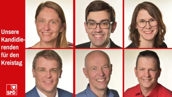 Die 6 Spitzenkandidat*innen